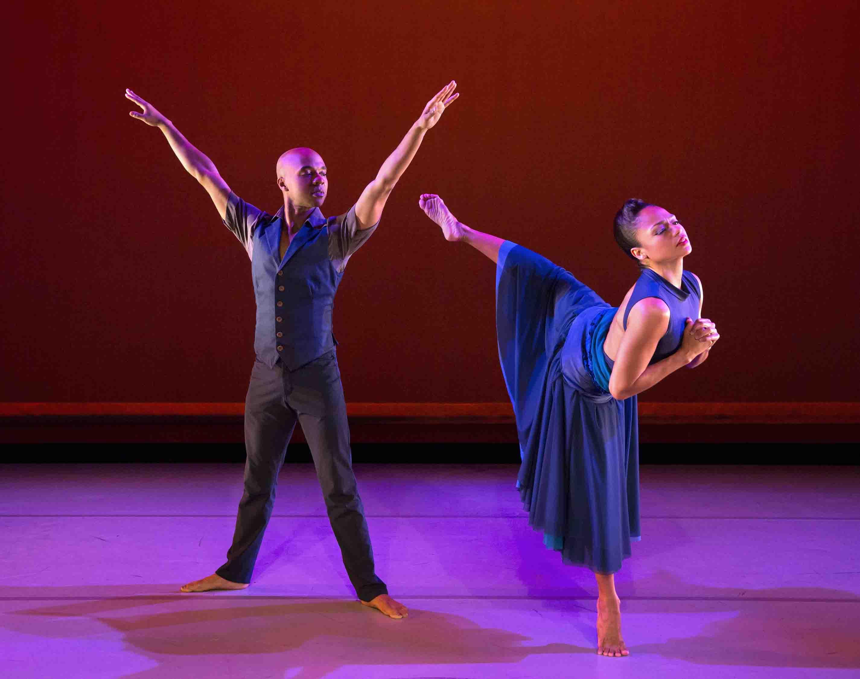 Alvin Ailey American Dance Theater Globe Dancer