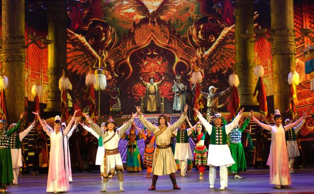The Adventures of Marco Polo – performed by the Honhot Song and Dance Troupe of Nationalities.