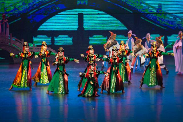 The Adventures of Marco Polo - performed by the Honhot Song and Dance Troupe of Nationalities.