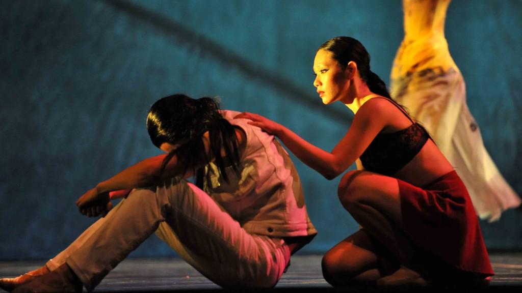 Liang Xing and Sophia Lee. Photo ©Vince Pahkala.