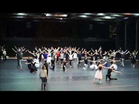 Marco Spada rehearsal