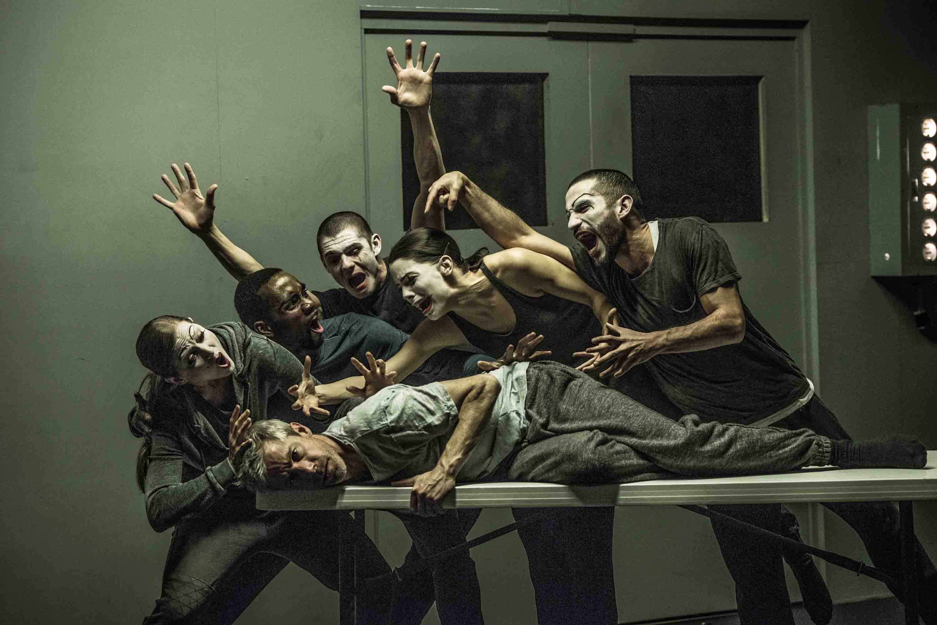 Performers of Betroffenheit. ©Wendy D Photography.